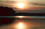 Вид на озеро Свирского