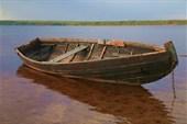 Лодочка на Важ-озере