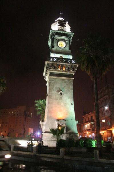Халеб. башня с часами