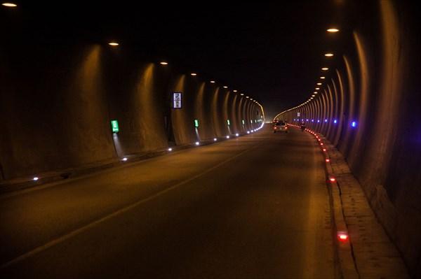 Тоннель - перевал 1065 м