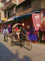 На улочках Катманду