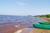 Чудское озеро, пляж.