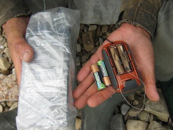 Батарея к GPS
