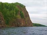 Скалы на Амгуни