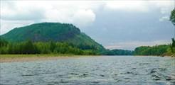 Амгунь перед притоком Баджал