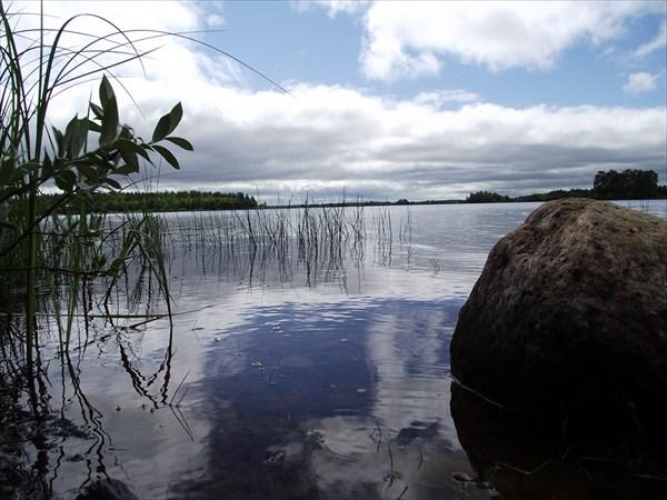Гимольское озеро. Восточный берег