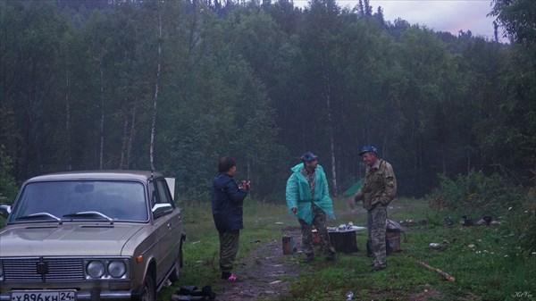 Встреча с рыбаками