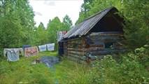 Рыбацкий домик, где мы пережидали непогоду