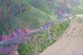 Подъем на перевал Тео-Ашуу