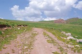 Дорога на перевал Кырк-Кыз