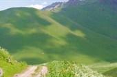 Спуск с перевала Кырк-Кыз