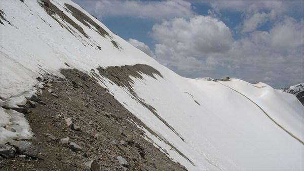 Снежный спуск с пер.Тон