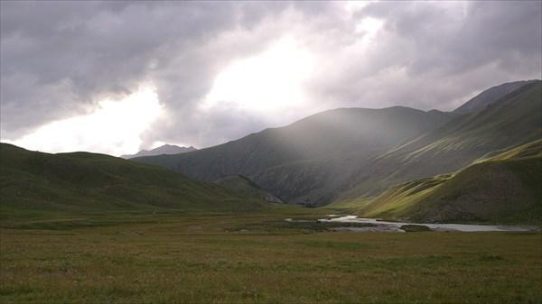 Долина р.Чонг-Кемин