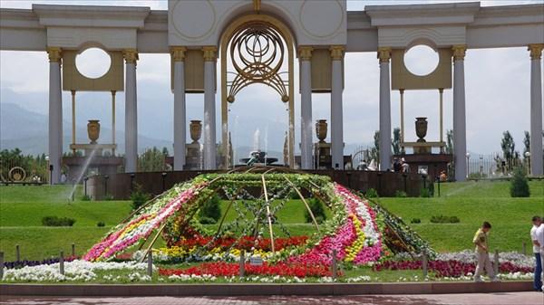 Парк Первого президента. Алма-Ата
