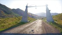 Выезд из долины Чонг-Кемин на трассу