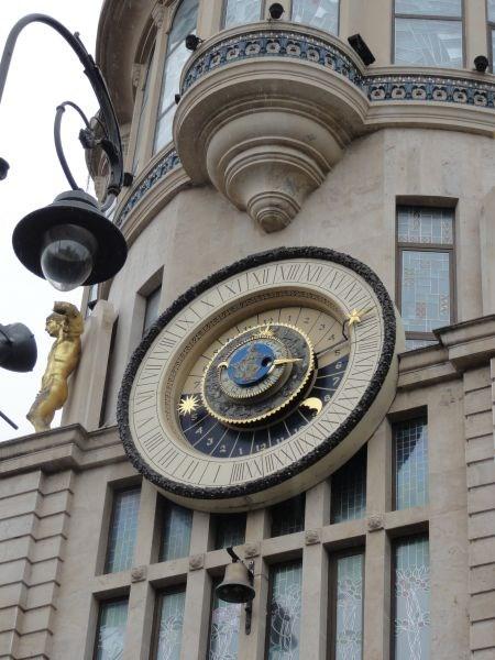 Астрономические часы.