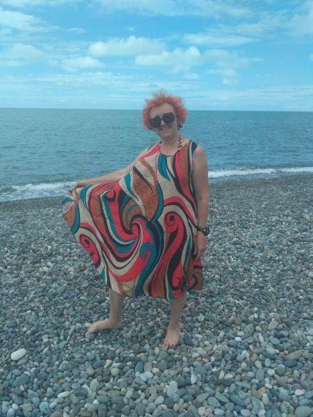 Писк сезона, безразмерное платье для пляжа