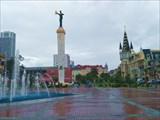 Пл.Европы, статуя Медеи с золотым руном