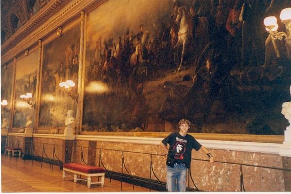 Версаль. Галерея битв.