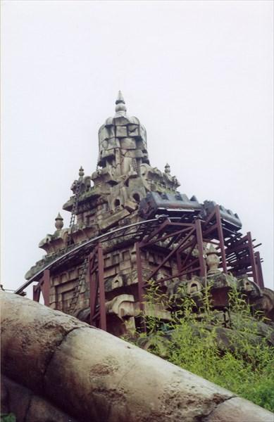 Индиана Джонс и Храм опасности, Диснейленд