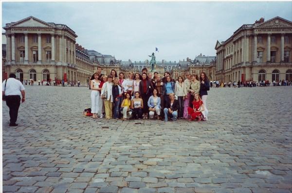 на фото: Версаль, Париж