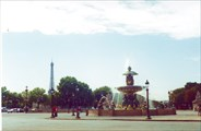Фонтан на площади Согласия, Париж