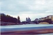 Нотр-Дам-де-Пари вид с Сены, Париж