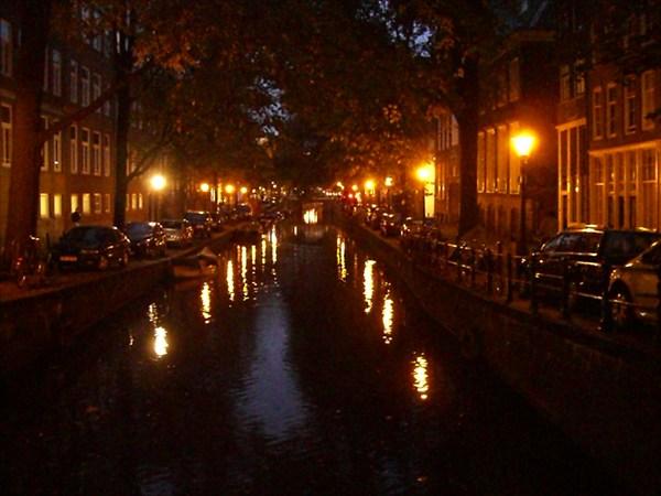 Ночной Амстердам!