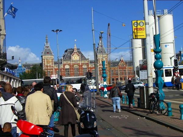 Вокзал железнодорожный.