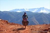 Велопутешествие по горам Высокого Атласа (Марокко).
