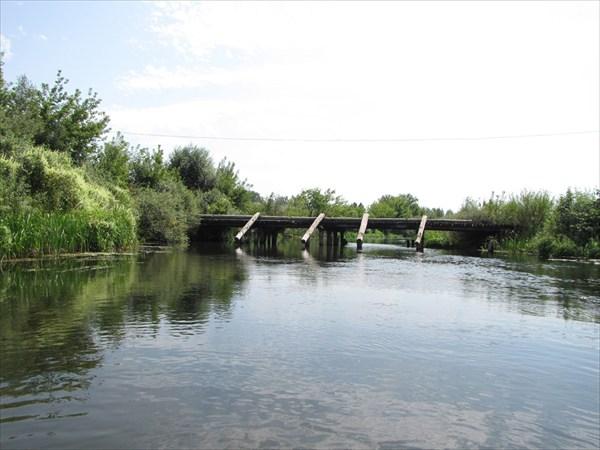 Мост в Старой Казинке