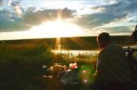 Фото 10. Ночевка у озера