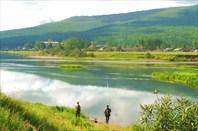 Фото 22. Речные просторы. Река Лена