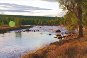 Вид на реку Правый Чульман.