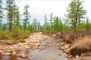 Истоки реки Алдан.