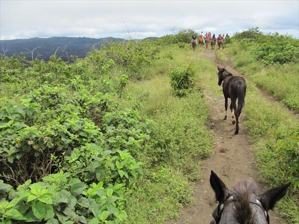 по дороге к вулкану Чико