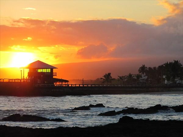 закат на острове Изабела