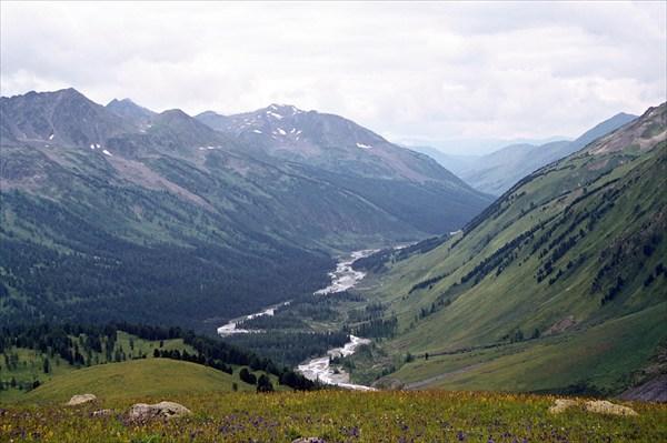 долина реки Белая Беррель