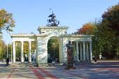 Арка героев на бывшей Соборной площади