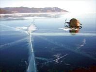Лёд всё более чистый
