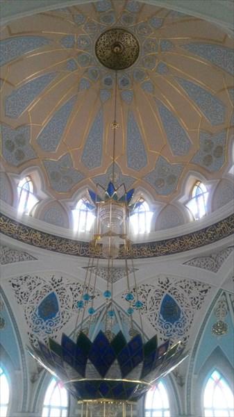 20170103_134841 Купол мечети изнутри
