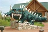 Памятник сказочному зверю Ходагу