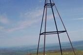 На вершине г.Кубриали-Кыр (1011м) плато Караби