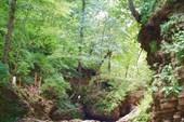 Водопад Каскадный (Малыш), р. Руфабго, пос. Каменномостский