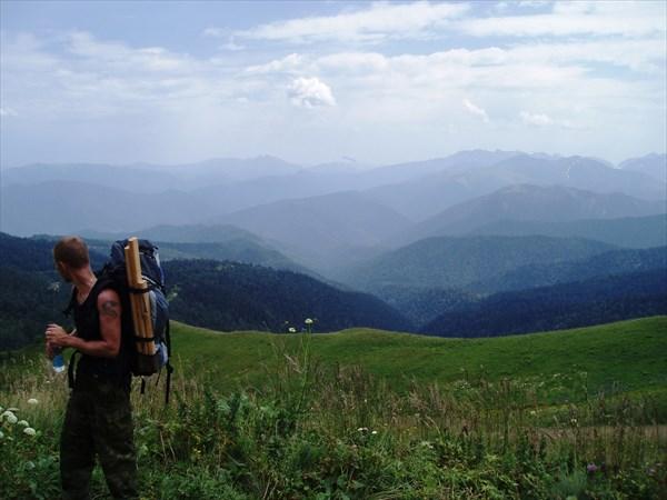 Вид у подножья горы Оштен