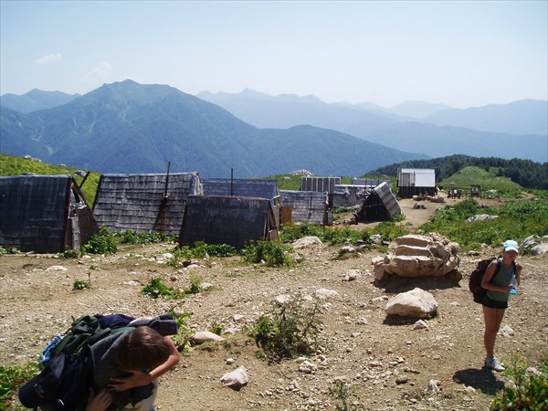 Деревня козопасов