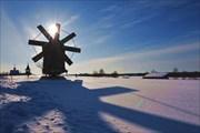 Мельница. Остров Кижи. Фото Л.Гольдин