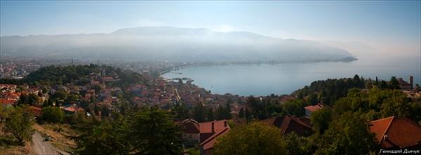 Охрид сверху