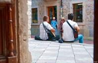 Великолепный дуэт уличных гитаристов