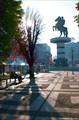 Фонтан Александра Македонского. К сожалению не работающий утром